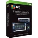 Obrázek AVG Internet Security 2018, obnovení licence, počet licencí 3, platnost 2 roky