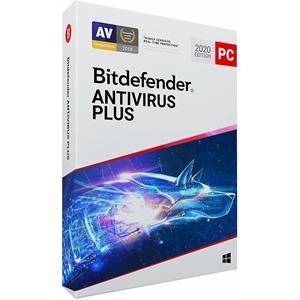 Obrázek Bitdefender Antivirus Plus 2021, obnovení licence, platnost 1 rok, počet licencí 3