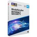 Obrázek Bitdefender Internet Security 2020, licence pro nového uživatele, platnost 3 roky, počet licencí 5