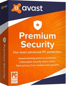 Obrázek Avast Premium Security 2020, licence pro nového uživatele, platnost 1 rok, počet licencí 1