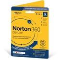 Obrázek Norton 360 Deluxe; obnovení licence; počet zařízení 5; platnost 1 rok