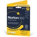 Obrázek Norton 360 Premium; obnovení licence; počet zařízení 10; platnost 1 rok